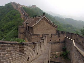 Great Wall At Mutianyu © Juan Llanos