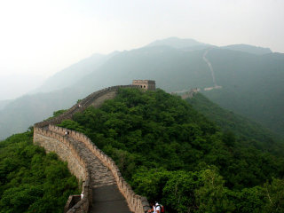 Great Wall At Mutianyu © Robin Zebrowski