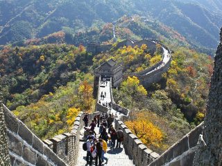Great Wall At Mutianyu © GreenArcher04