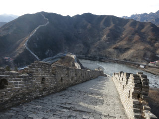 Water Great Wall At Huanghuacheng © edward stojakovic