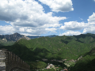 Water Great Wall At Huanghuacheng © Caitriana Nicholson