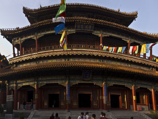 1 Day Bus Tour: Hutong, Lama Temple, Panda House & Olympic Stadiums © beijinglandscapes