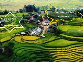 Sapa tour 2 days 1 - Lisa Vietnam Travel