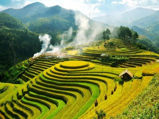 Discover Mu Cang Chai rice terraces
