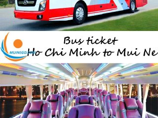 Bus tickets from Ho Chi Minh to Mui Ne