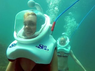 WALKING UNDERWATER - SEA TREK TOUR
