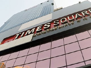Times Square Building Mall