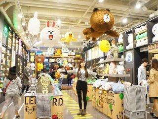 LINE Friends Gangnam