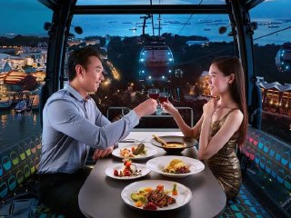 Cable Car Sky Dining - Stardust Cabin